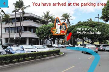 You have arrived at the parking area for the plaza. The best place to park is by the Copy Shop or the Satellite City Hall/Police Station