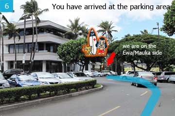 You have arrived at the parking area for the plaza. The best place to park is by the Copy Shop or the Satellite City Hall/Police Station.