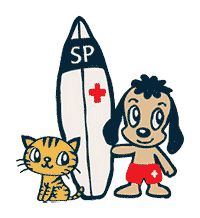 Surf Paws logo
